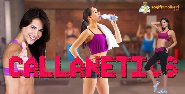 Hızlı Kilo Veren Egzersizler - Callanetics Egzersizleri ile zayıflama ve kilo verme