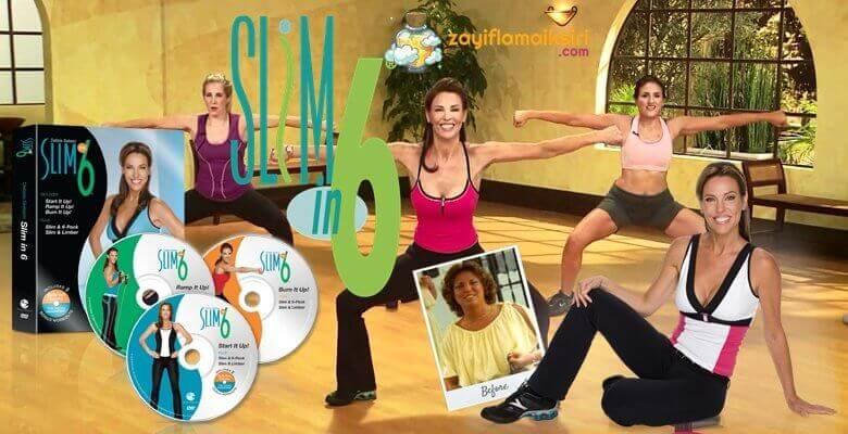 Slim İn 6: Basen ve Kalça Eritmek İsteyenler İçin Mucize Program