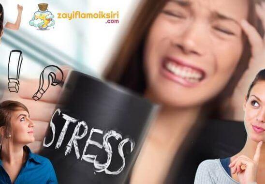 Stres Zayıflamaya Engel Midir?
