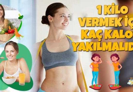1 Kilo Vermek için Kaç Kalori Yakmak Gerekir?