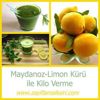 Yağ Yakıcı Maydanoz Limon Kürü