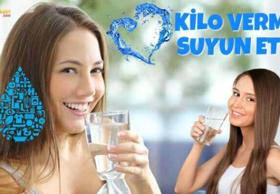 Su Zayıflamaya Yardımcı Olur Mu?