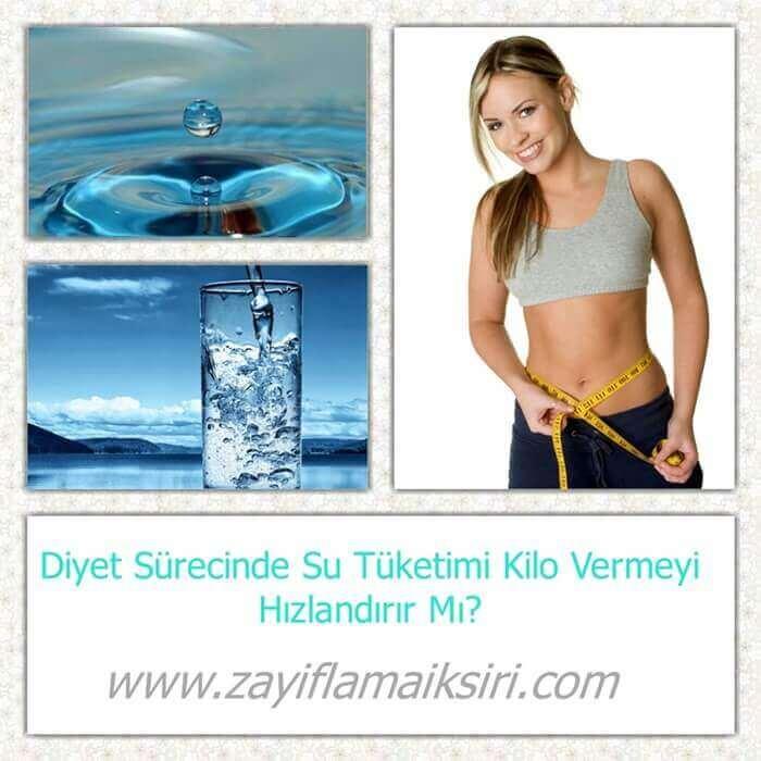 Su İçerek Zayıflama - 3 litre su ile zayıflama