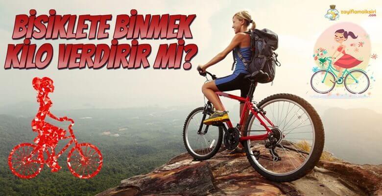 Bisiklete Binmek Kaç Kalori Harcatır? Kilo Verdirir Mi?