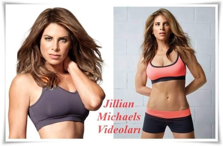 Jillian Michaels Göbek, Kalça, Basen İnceltme Hareketleri Egzersizleri