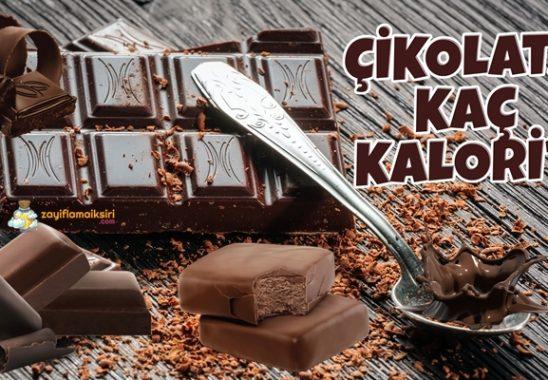 Çikolata Kaç Kalori?