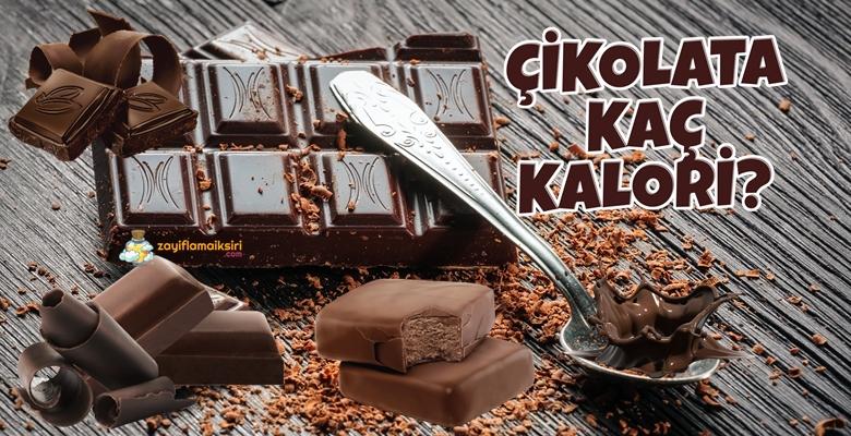 Çikolata Kaç Kalori? Diyette Kilo Aldırır mı?