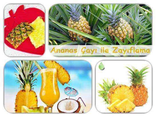 Ananas Çayı Zayıflatır Mı?