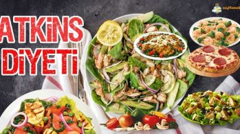 Atkins Diyeti | 2 Haftada 7 Kilo Verdiren Diyet Listesi