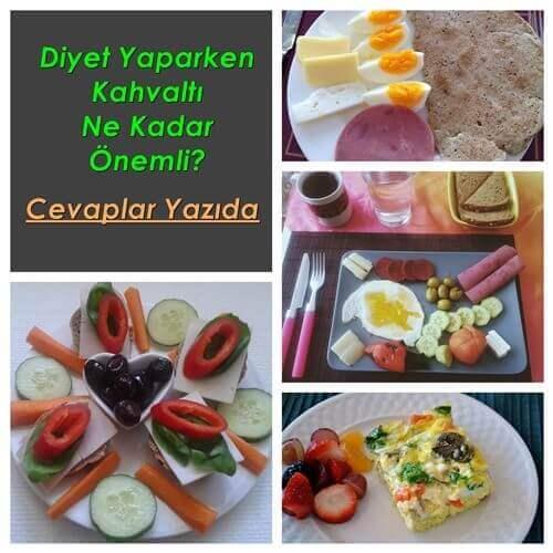 Diyet Yaparken Kahvaltının Önemi