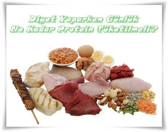 Diyette Günlük Alınması Gereken Protein Miktarı