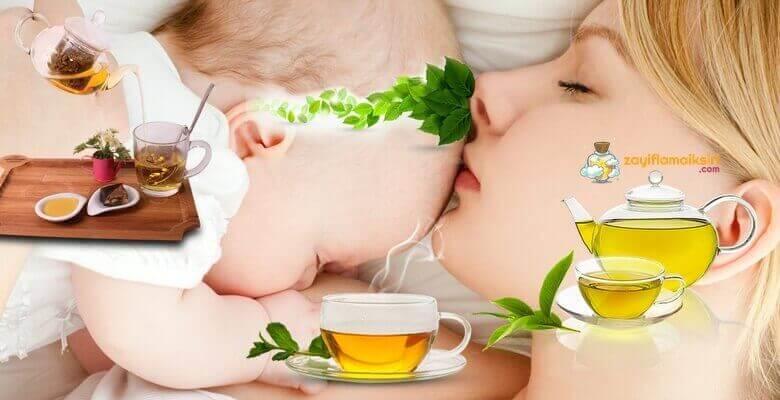 Emziren Anneler İçin Zayıflama Çayı Tarifleri