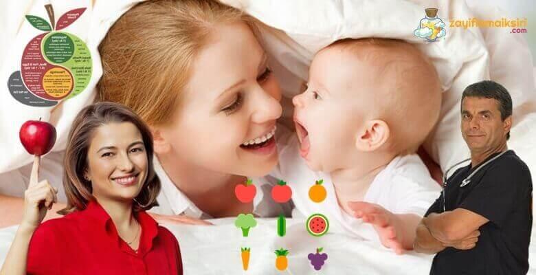 Emziren Annelere Hızlı Zayıflatan Diyet Listesi