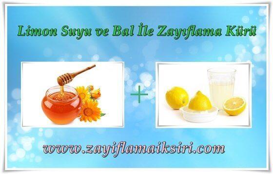 Limon ve Bal ile Zayıflama Ballı Sıcak Su Zayıflatır Mı? Limonlu Su Kilo Verdirir Mi?