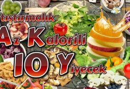Kalorisiz Atıştırmalıklar - Sıfır Kalorili Tuzlu Atıştırmalıklar - Gece, Akşam Yenilebilecek Az Kalorili Besinler