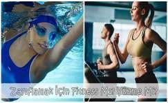 Sıkılaşmak İçin Yüzme Mi Fitness Mı?