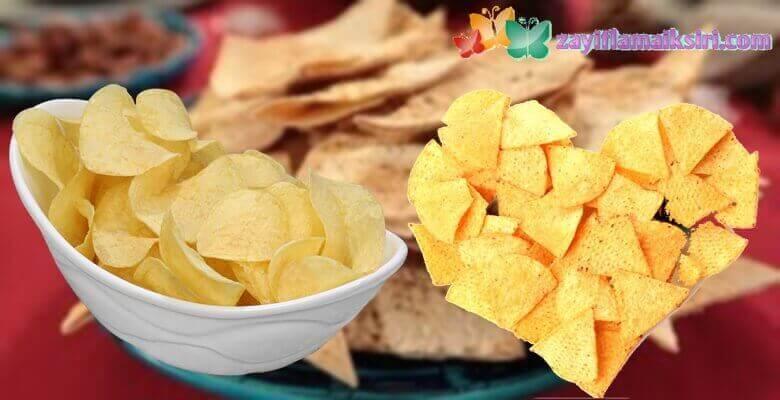 Düşük Kalorili ve Lezzetli 2 Harika Cips Tarifi