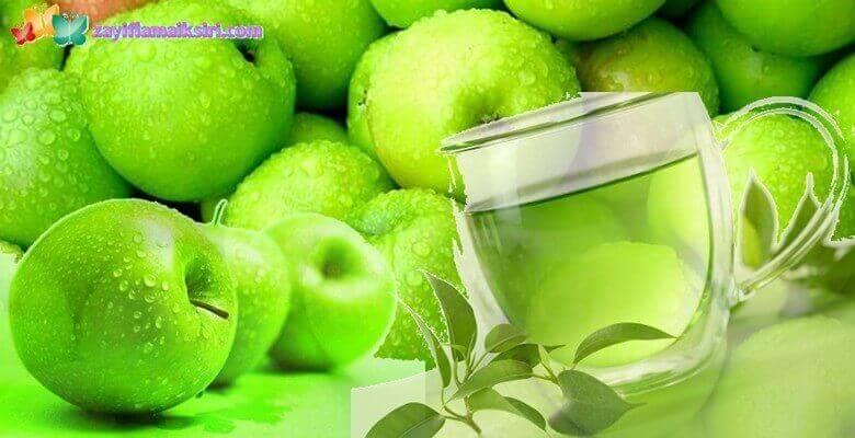 Yeşil Elma Zayıflama Çayı Nasıl Yapılır? Kaç Kilo Verdirir?