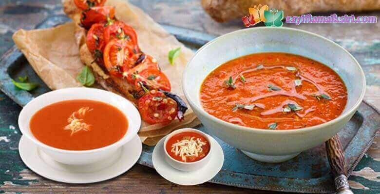 Diyet Domates Çorbası Nasıl Yapılır? Kaç Kalori?