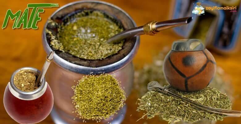 Mate Çayı Nedir? Zayıflamak için Nasıl Kullanılır?