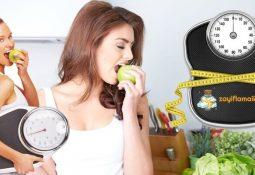 1 Haftada 4 Kilo Verdiren Diyet Listesi