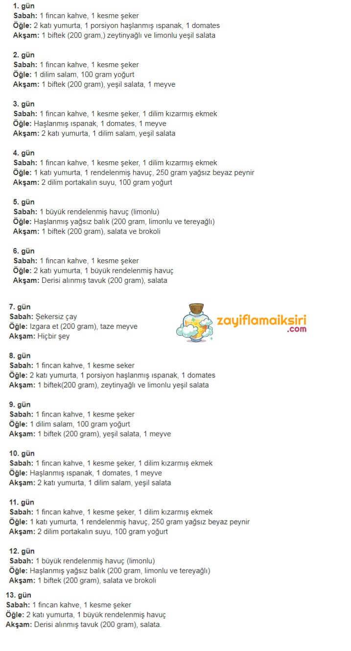Öğrenci diyet listesi ile Etiketlenen Konular