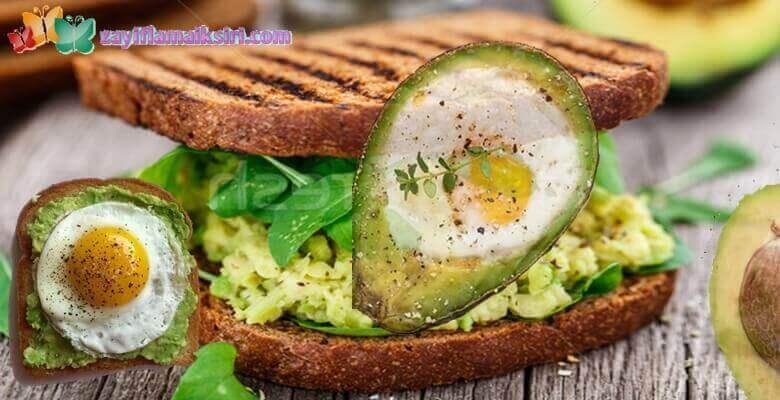 Yumurta ve Avokado Kürü ile Zayıflama | 2 Haftada 5-6 Kilo