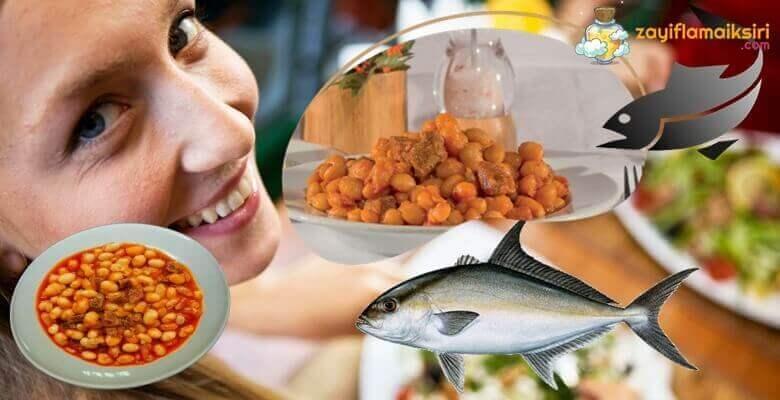 Tuna Balığı ve Fasulyeler ile 2 Haftada 5 Kilo!