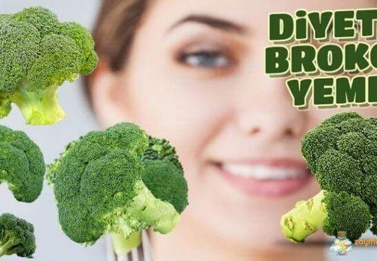 Diyet Yaparken Brokoli Yemek – Brokolinin Kalorisi ve Besin Değerleri
