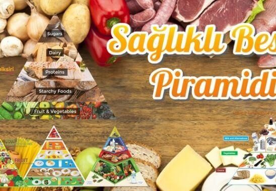 Sağlıklı Besin Piramidi ile Kilo Verme