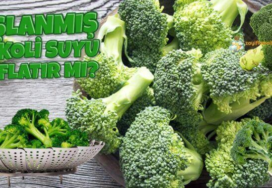 Haşlanmış Brokoli Suyu Zayıflatır Mı?