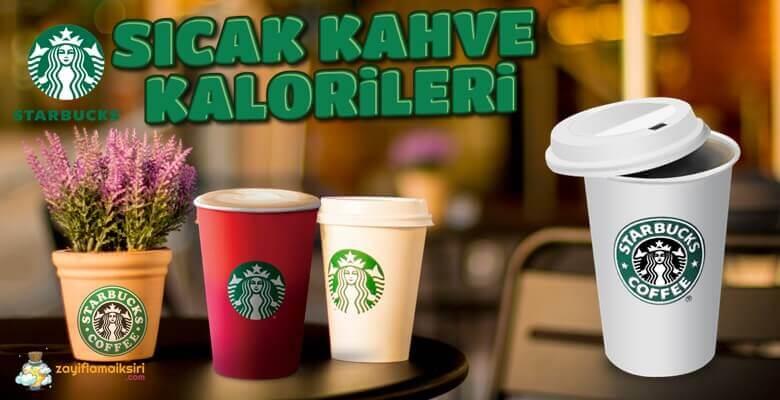 Starbucks Sıcak Kahve Kalorileri