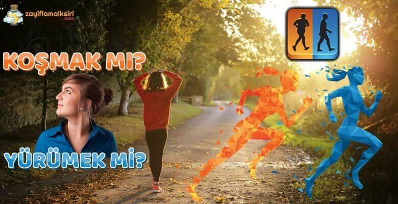 Yağ Yakımı İçin Koşmak Mı Yürümek Mi?