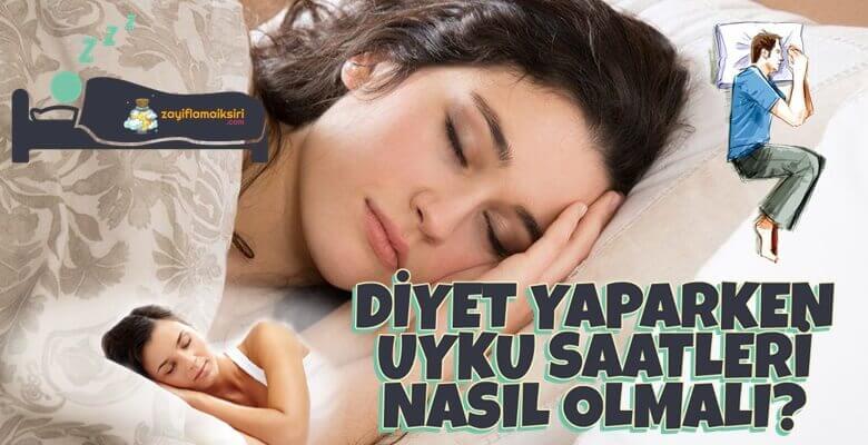 Diyet Yaparken Uyku Saatleri Nasıl Olmalı?