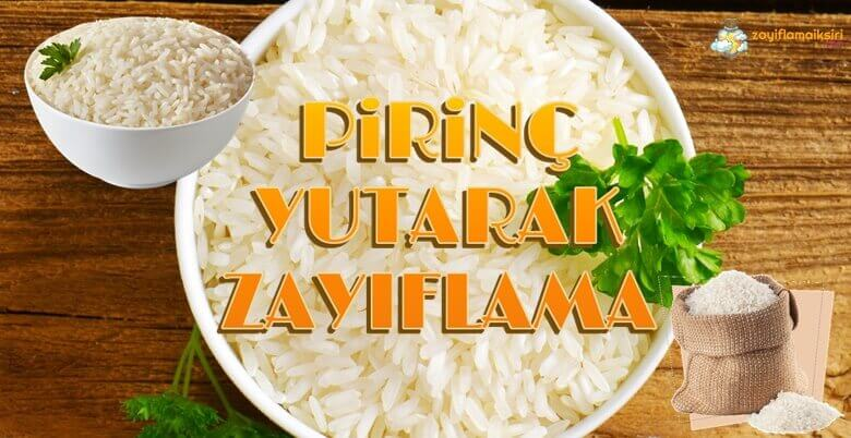 Pirinç Yutarak Zayıflamak