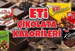 Eti Çikolata Kalorileri