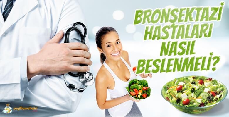 Bronşektazi Hastaları Nasıl Beslenmeli?