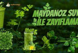 Maydanoz Suyu ile Zayıflama | Haftada 5 Kilo!