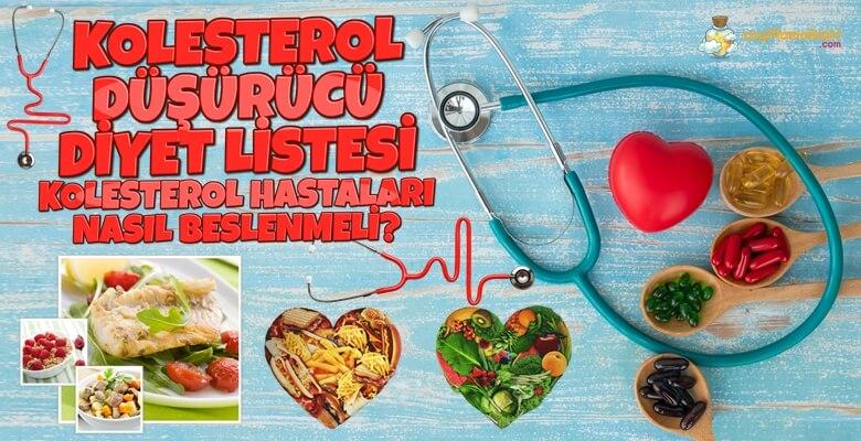 Kolesterol Hastaları Nasıl Beslenmeli?