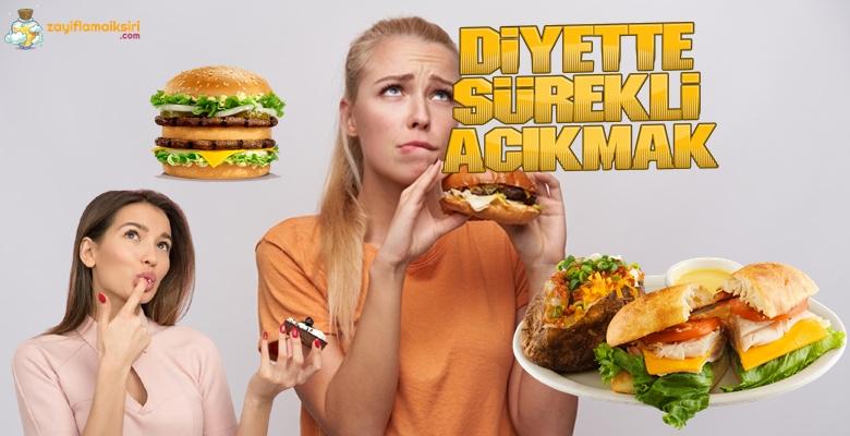 Diyet Yaparken Sürekli Aç Hissetmek